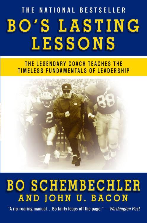 Bo's Lasting Lessons By Schembechler, Bo/ Bacon, John U.